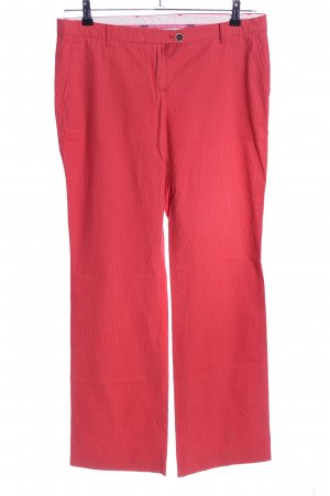 Cinque Chinohose rot Streifenmuster Casual-Look
