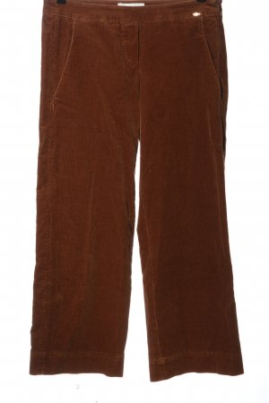 Cinque Corduroy Trousers brown casual look