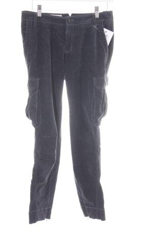 Cinque Corduroy Trousers dark blue casual look