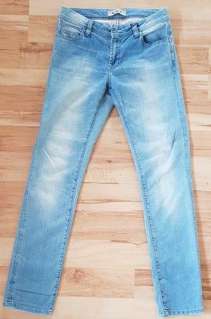 Cinque Low Rise Jeans light blue cotton