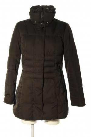 Cinque Down Jacket brown quilting pattern casual look