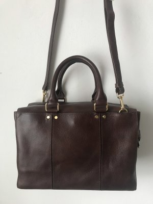 Cinque Bowling Bag dark brown leather