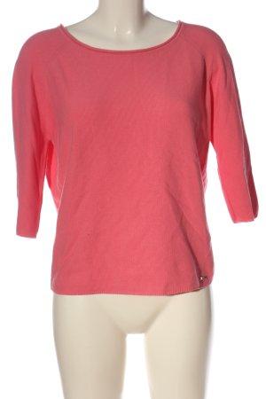 Cinque Sudadera de punto fino rosa look casual