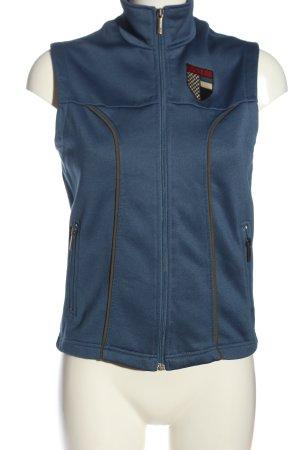 Cinque Fleeceweste blau Casual-Look