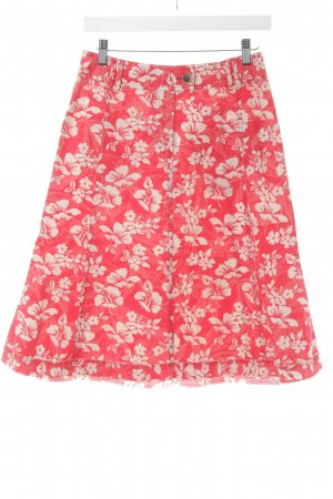 Cinque Godet Skirt salmon-white