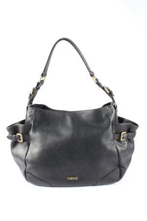 Cinque Handtasche schwarz Casual-Look