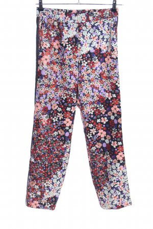Cinque High Waist Trousers allover print casual look