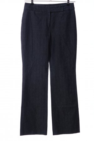 Cinque High Waist Trousers light grey-black striped pattern casual look
