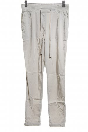 Cinque High Waist Trousers natural white-light grey casual look