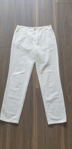 Cinque Pantalón tipo suéter blanco Algodón