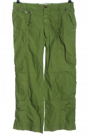 Cinque Low-Rise Trousers green casual look