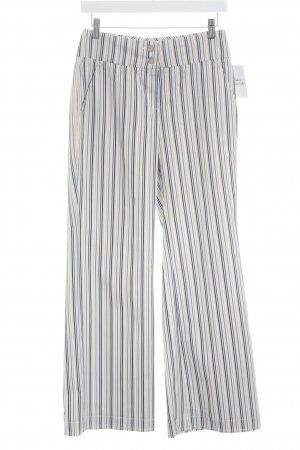 Cinque Low-Rise Trousers striped pattern extravagant style