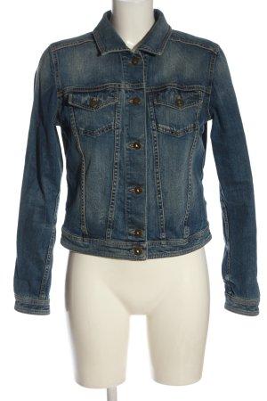 Cinque Veste en jean bleu style décontracté