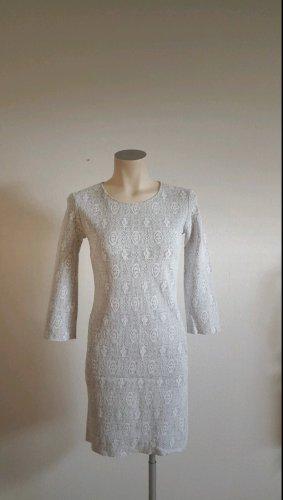 Cinque Sukienka mini biały-jasnoszary