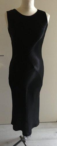 Cinque Kleid Silvesterkleid Satin das schlichte Schwarze