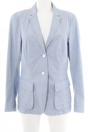 Cinque Kurz-Blazer blau Allover-Druck Business-Look