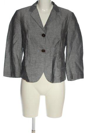 Cinque Blazer corto gris claro moteado estilo clásico