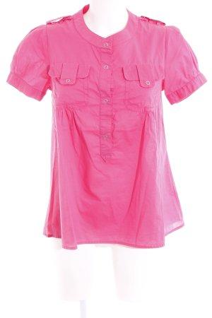 Cinque Kurzarm-Bluse pink Casual-Look