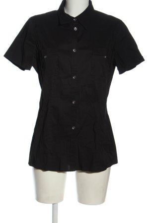 Cinque Kurzarmhemd schwarz Casual-Look