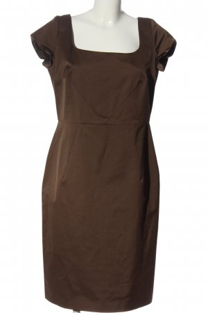 Cinque Kurzarmkleid braun Business-Look