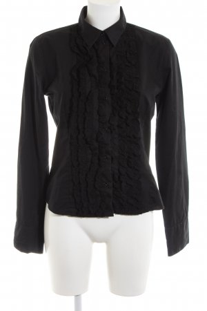 Cinque Long Sleeve Shirt black business style