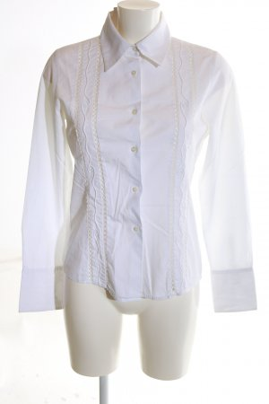 Cinque Long Sleeve Shirt white business style