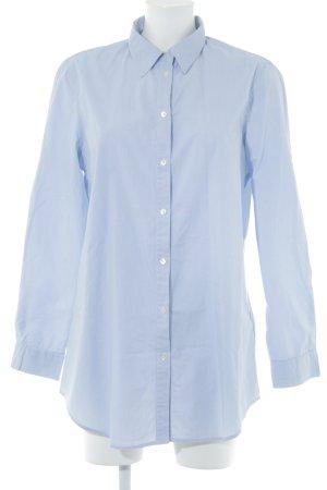 Cinque Langarmhemd himmelblau-weiß Streifenmuster klassischer Stil