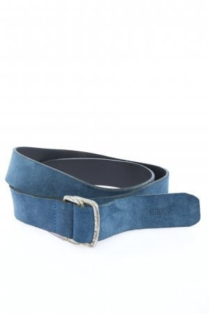Cinque Faux Leather Belt blue casual look