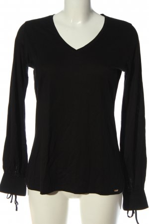 Cinque Longsleeve black casual look