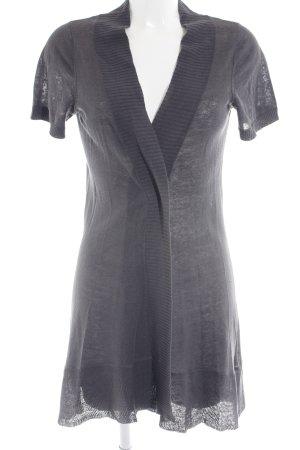 Cinque Gilet long tricoté gris clair style décontracté