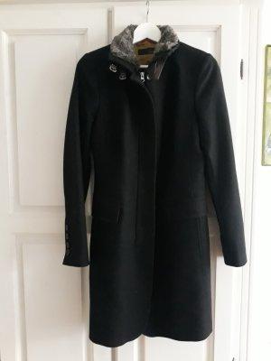 Cinque Abrigo de lana negro