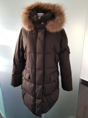 Cinque Quilted Coat black brown
