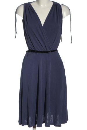 Cinque Vestido a media pierna azul elegante