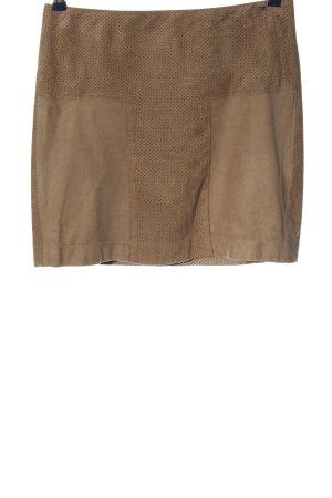 Cinque Minifalda marrón look casual