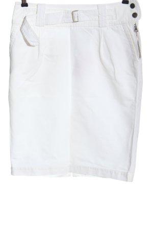 Cinque Minifalda blanco look casual