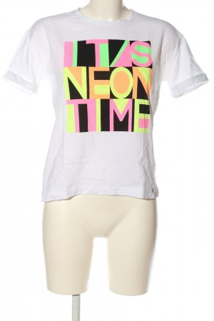 Cinque Koszulka z nadrukiem Nadruk z motywem W stylu casual