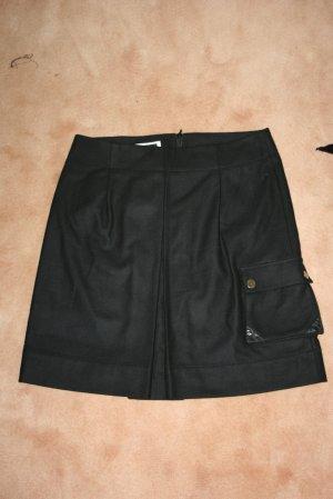CINQUE Rock Wolle schwarz Gr. 40