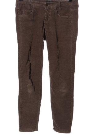 Cinque Spodnie rurki brązowy W stylu casual
