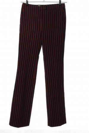 Cinque Jersey Pants black-red allover print casual look