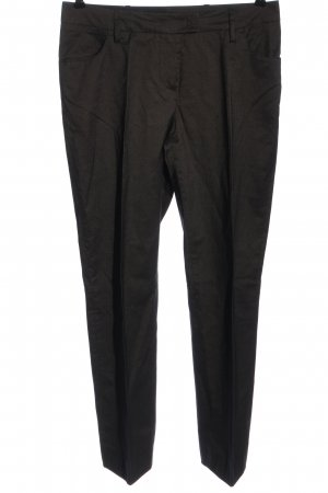 Cinque Jersey Pants black-brown striped pattern business style