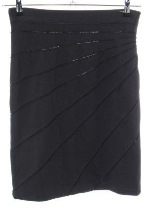 Cinque Stretch rok zwart casual uitstraling