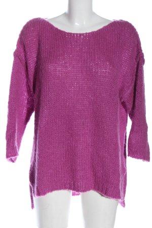 Cinque Sweter z dzianiny różowy W stylu casual