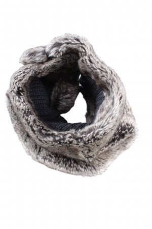 Cinque Knitted Scarf light grey casual look