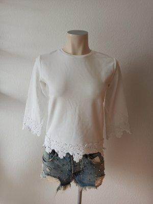 Cinque Bluza dresowa biały