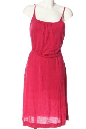 Cinque Trägerkleid pink Webmuster Casual-Look