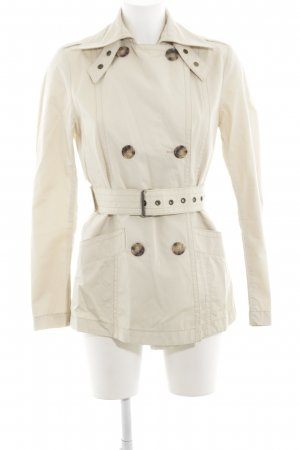 Cinque Trenchcoat wollweiß Casual-Look