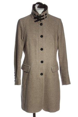 Cinque Manteau mi-saison gris clair imprimé allover style décontracté