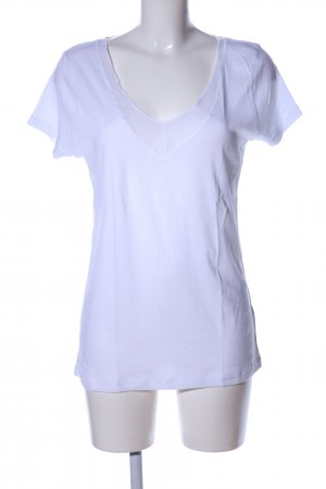 Cinque V-Ausschnitt-Shirt weiß Casual-Look
