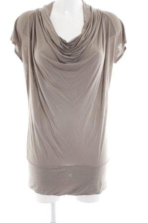 Cinque Koszulka z dekoltem woda w kolorze białej wełny W stylu casual