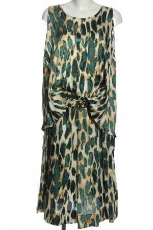 Cinque Woven Twin Set green-cream abstract pattern casual look